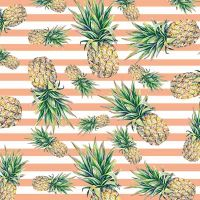 Pineapple Stripes - DeinDesign