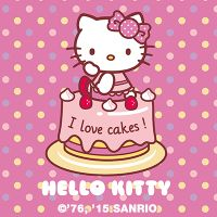 Hello Kitty – I Love Cakes - Hello Kitty