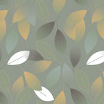 Dusty leaves - DeinDesign