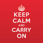 Keep calm and carry on - Statement Collection
