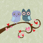 Dating Owls - DeinDesign