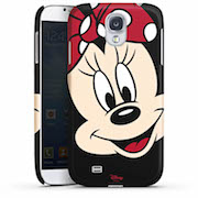 Galaxy S4 Premium Case Minnie all over